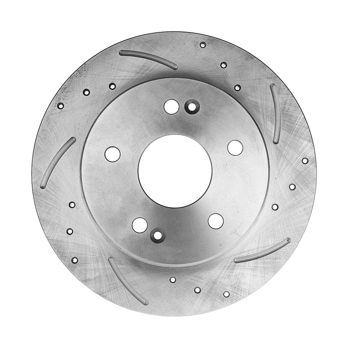 1pc 5 Lug Rear Right Side Brake Rotors Brake Disc For