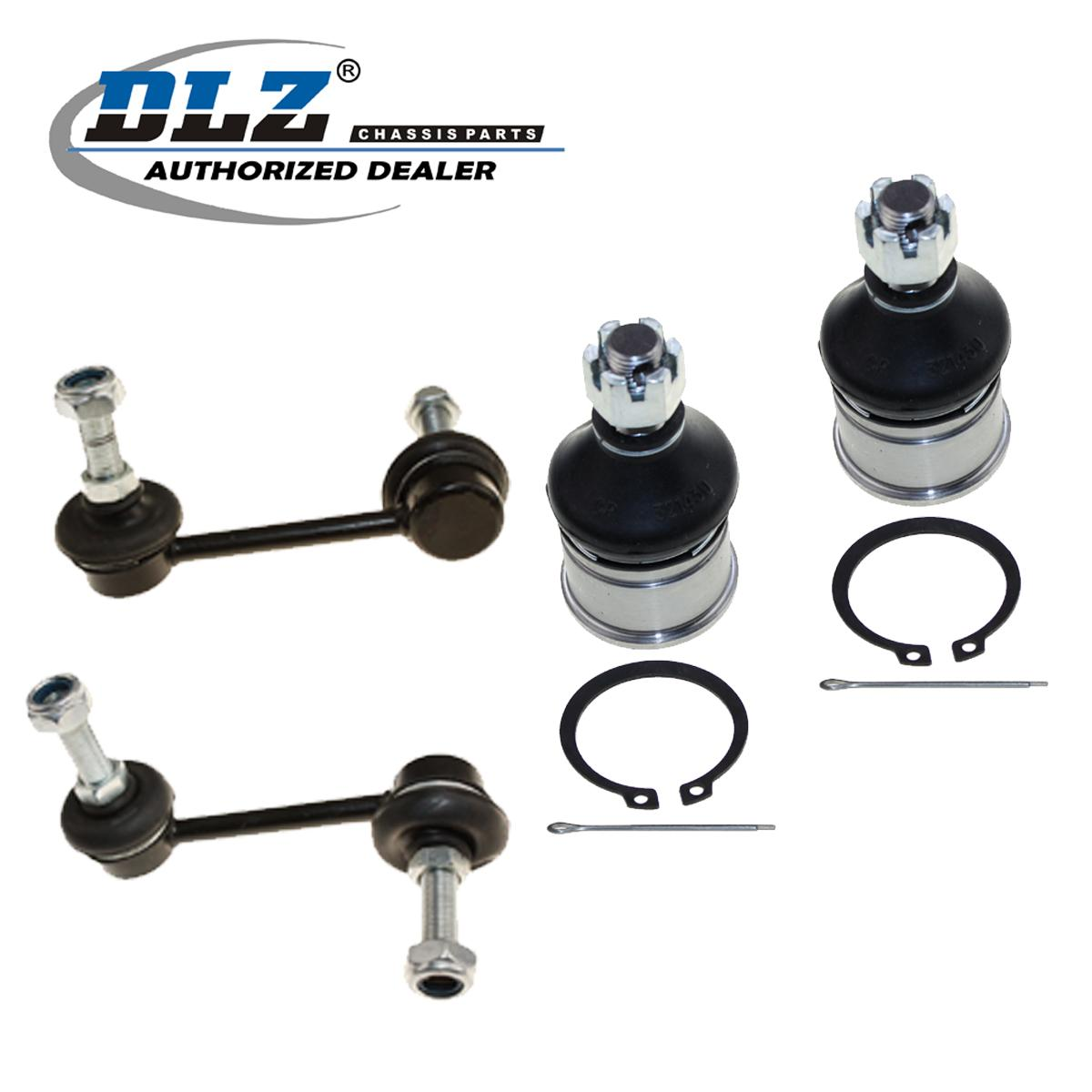 Rear Sway Bar Link Front Lower Ball Joint Kit For Acura El