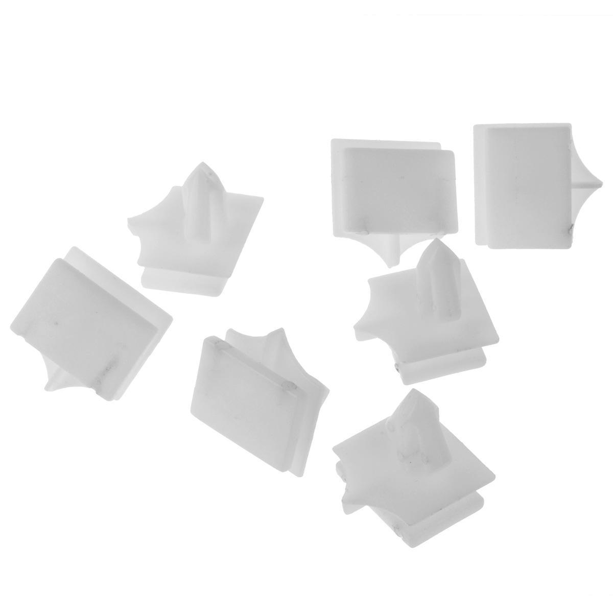 100pcs Rocker Panel Moulding Plastic Push Retainer Rivet for Chevrolet Avalanche