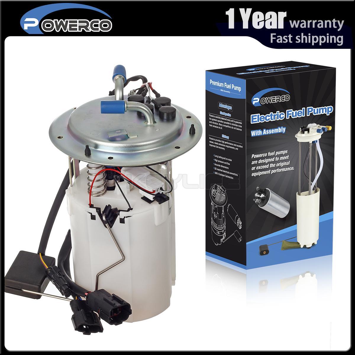 Powerco Gas Fuel Pump Module W//Level Sensor For Kia Sephia 1.8L 2000-2001 E8408M