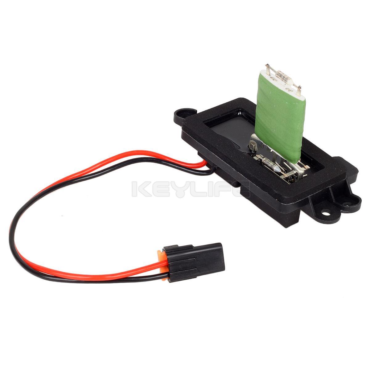 HVAC Blower Motor Resistor w// Wire Harness For 02-05 Chevrolet Blazer # 89019088