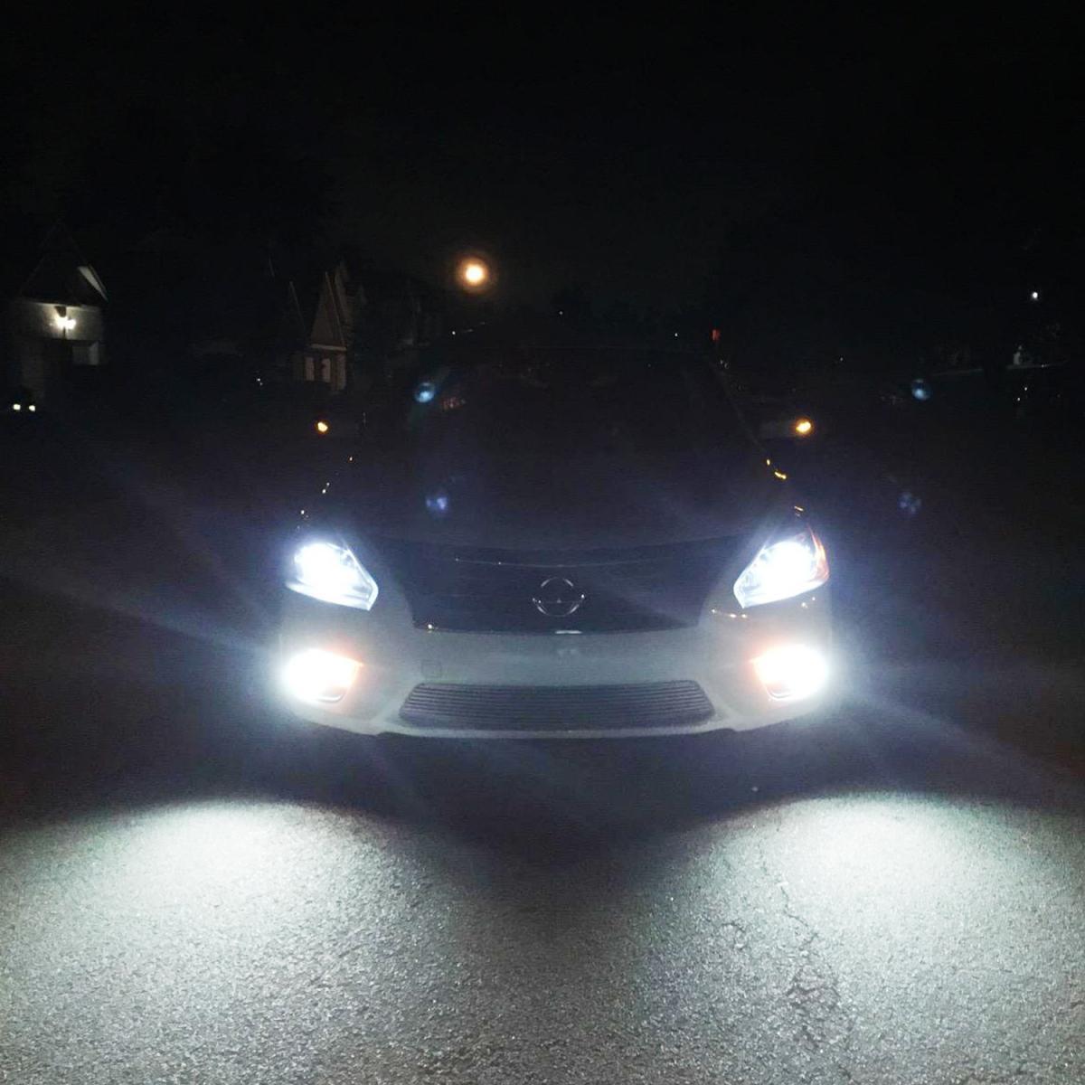 Backup White Cree High Power LED Bulbs Reverse Light 3156 3157 50w Lights