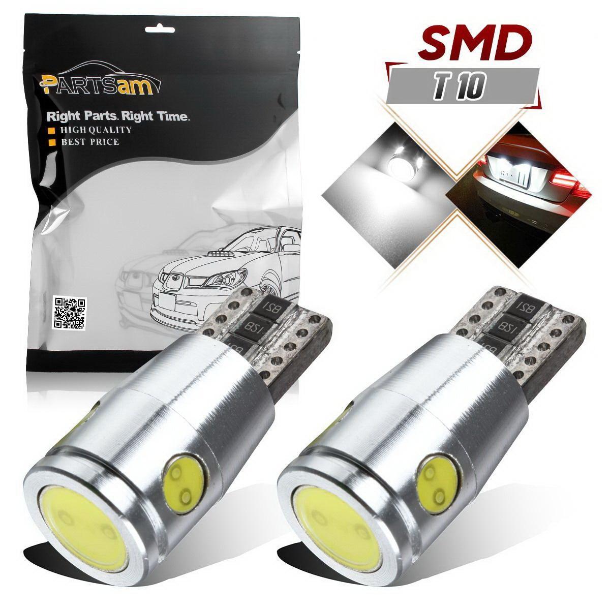 2x White T10 High Power Canbus Error Free LED LIGHT For Backup Reverse Lights 192840275028