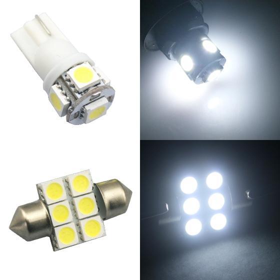 white led light interior bulb package  honda pilot     se ebay