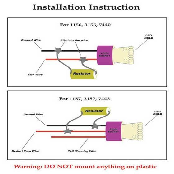 Set4 50w 6ohm load resistor fix led flash turn signal light blink set4 load resistor resistors 50w 6 ohm fix led fast flash turn signal blink sciox Choice Image
