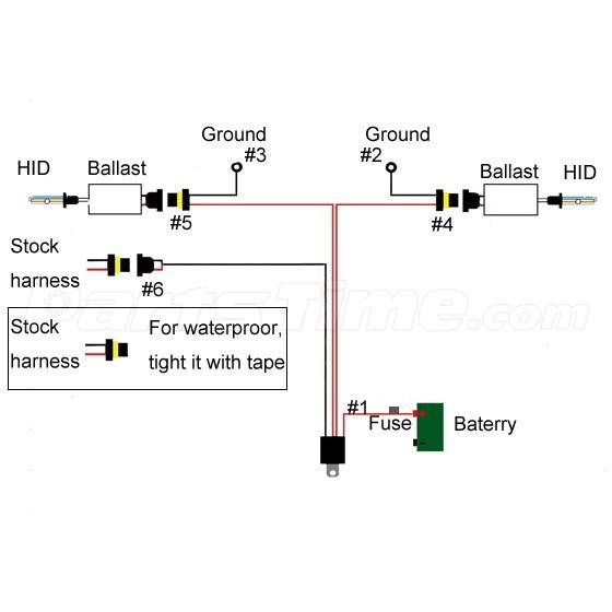 hid wiring diagram for motorcycle   33 wiring diagram