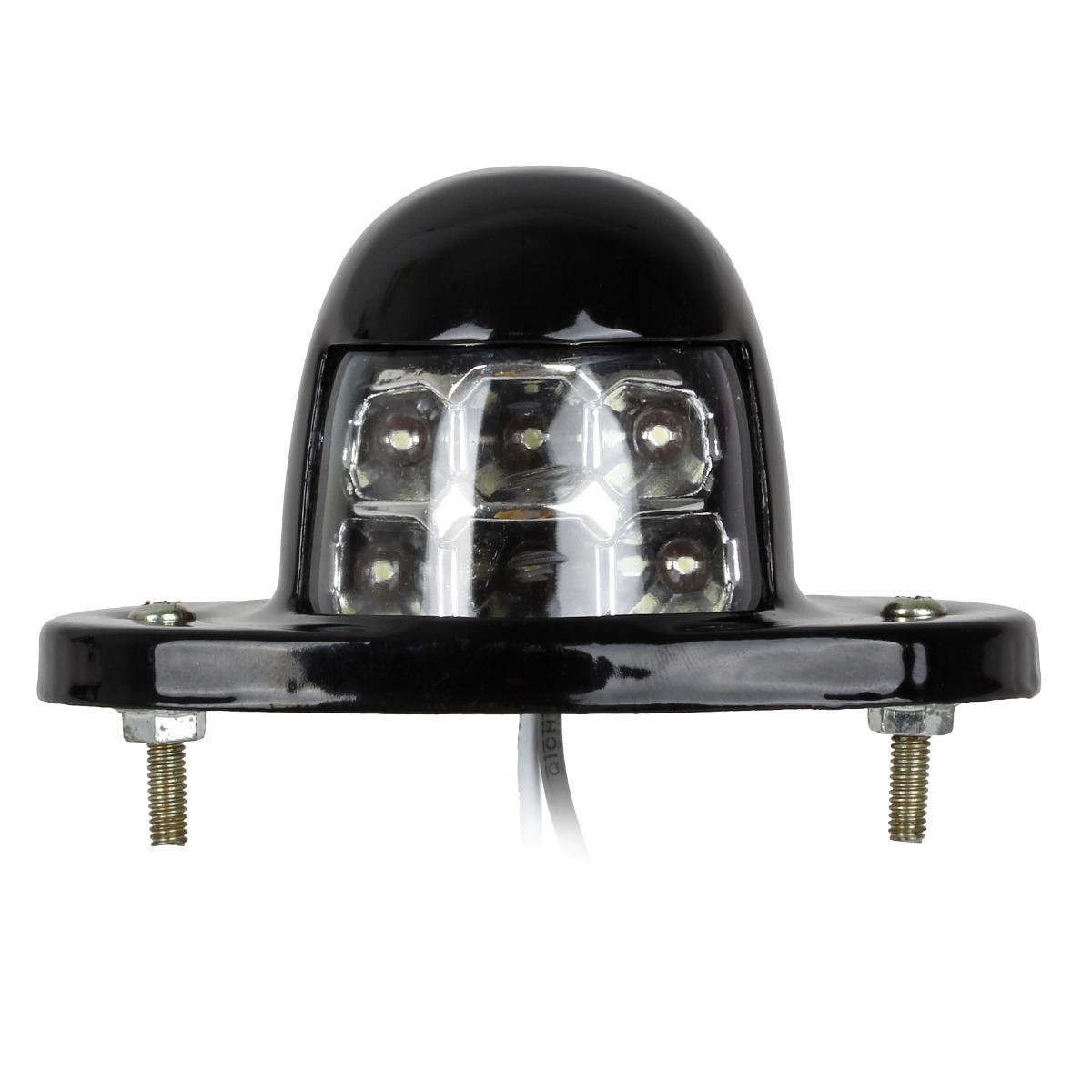 2pcs Universal LED License Plate Light Wiring Lamp For Car