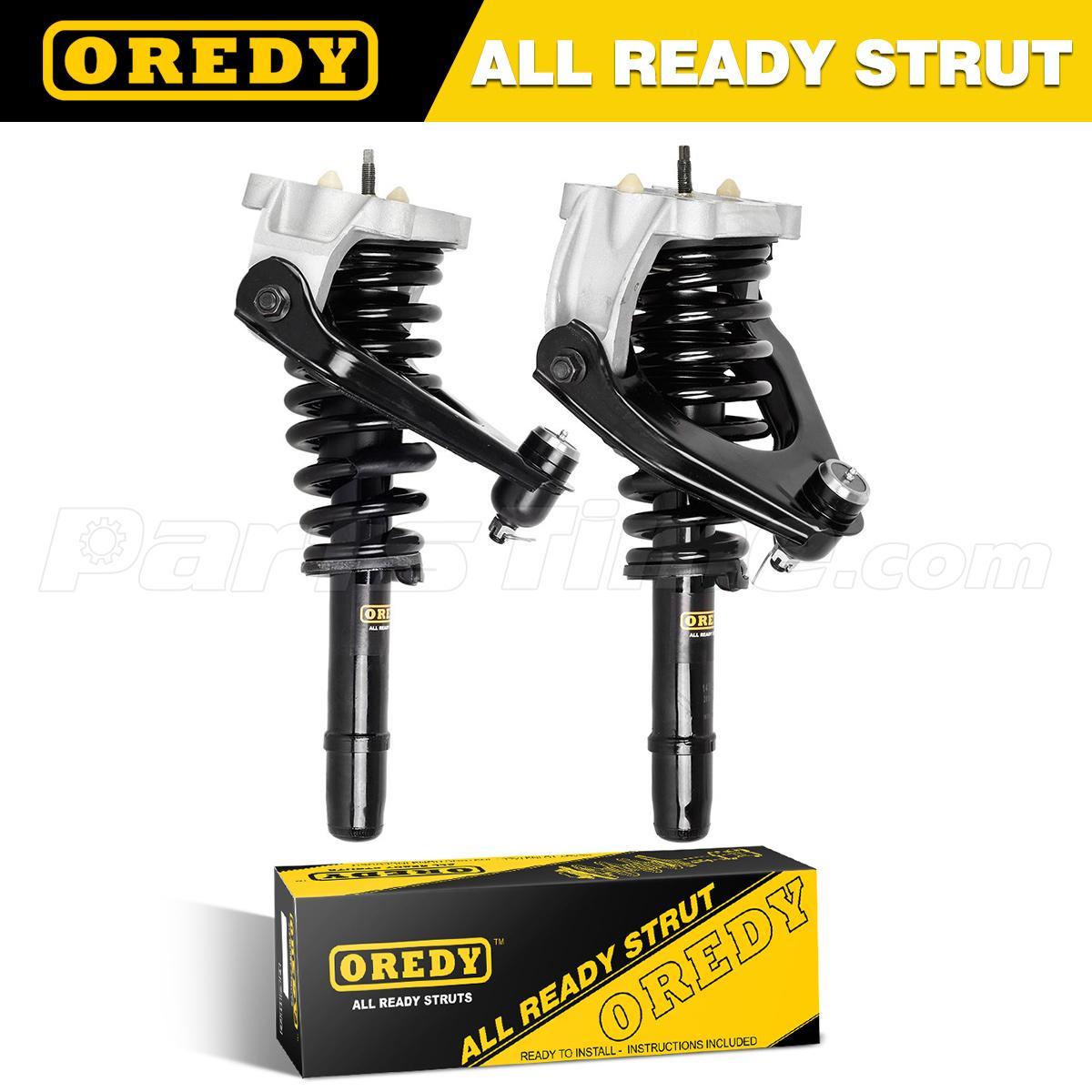 Front Complete Struts /& Rear Shock Assemblies for 99-00 Chrysler Cirrus Sedan