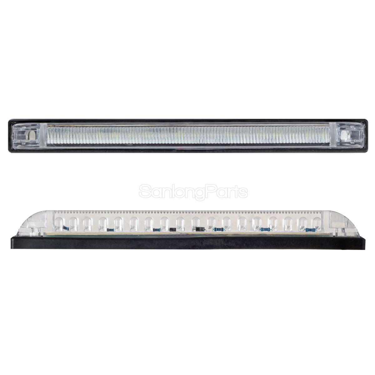 West Marine 12645065 LED Step Light Boat White Low Amp Draw 51696