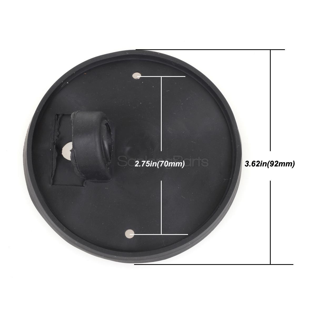 5x1313 Amber Lens Roof Cab Light Marker Base for 73-87 GMC C3500//5000//6000//7000