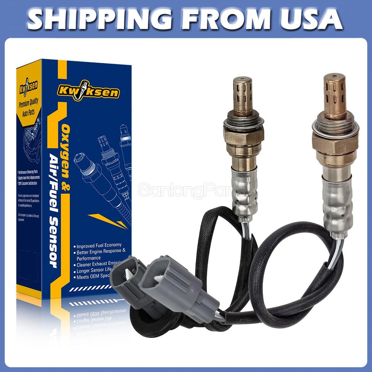 Fit 2005-2004 Chevrolet Aveo 1.6L Oxygen O2 Sensor 1 Sensor 2 Upper//Downstream