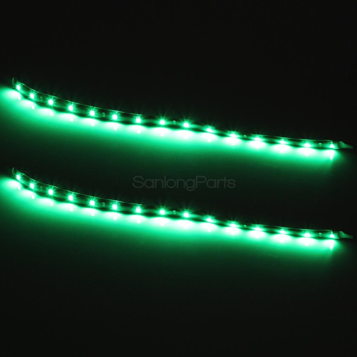 """Marine Led Boat Lights: 6) 12"""" Bow Led Navigation Light Marine Boat Port Red"""
