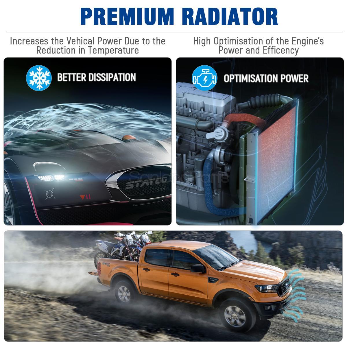 Car Radiator 2195 For Isuzu Rodeo Sport Amigo Honda Passport 3 2l V6 Ebay