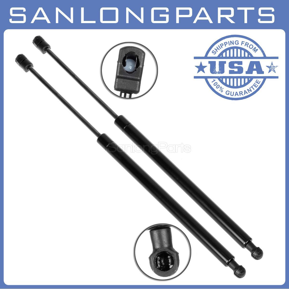 2Pcs Liftgate Lift Support Strut Shock Gas Spring Rod For Pontiac Vibe 2003-2008