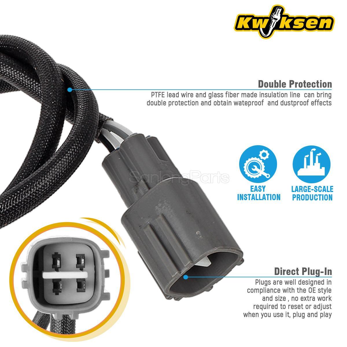 2x Oxygen O2 Sensor Upstream/&Downstream SG358+SG1836 For 97-01 Toyota Camry 2.2L