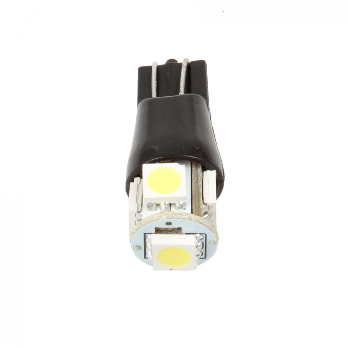2pcs White Parking Light T10 168 High Bright Car Led