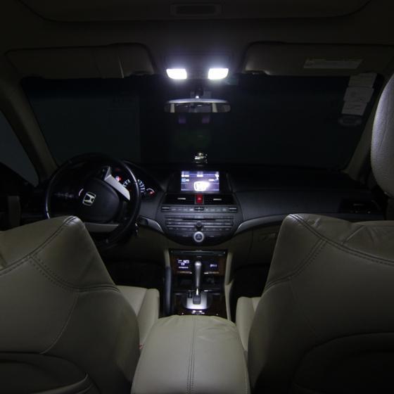 8x white interior led lights bulbs kit for 2002 2010 ford. Black Bedroom Furniture Sets. Home Design Ideas
