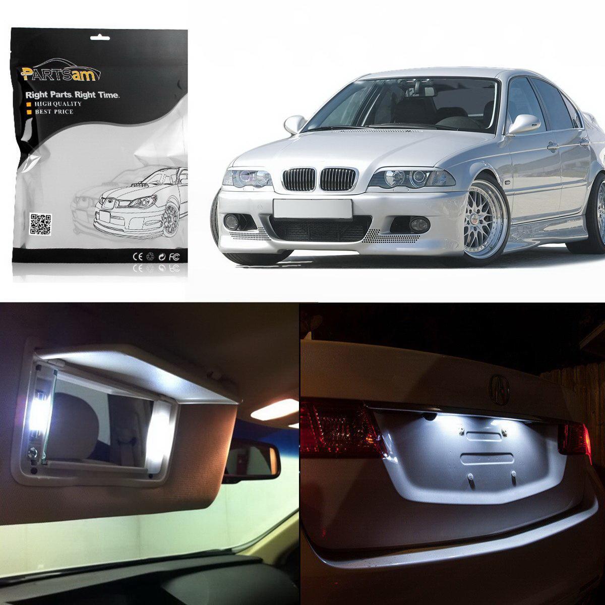 Bmw M3 Interior: 19 White LED Interior Light Package For BMW E90 E91 2006