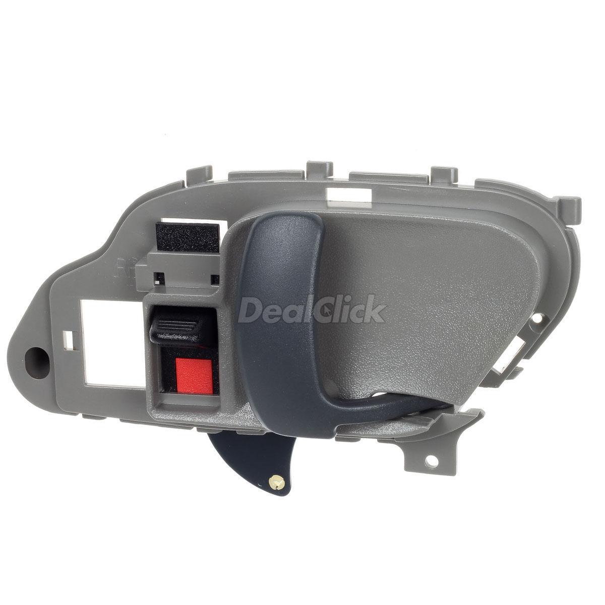 AUTEX Door Handle 2pcs Grey Interior Door Handle Front//Rear Left Right Compatible with GMC C1500 Pickup//Suburban 1995-1999 Replacement for GMC C2500 Pickup//Suburban 1995-1999 Compatible with GMC K3500