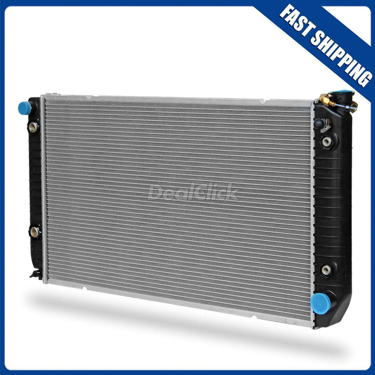 New 2 Row Aluminum Radiator for C2500 C3500 K2500 K3500 Suburban C3500Hd 7.4L V8