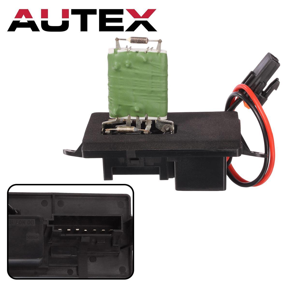Heater Blower Motor Regulator Resistor For 1999-06 Chevrolet Silverado 89019089