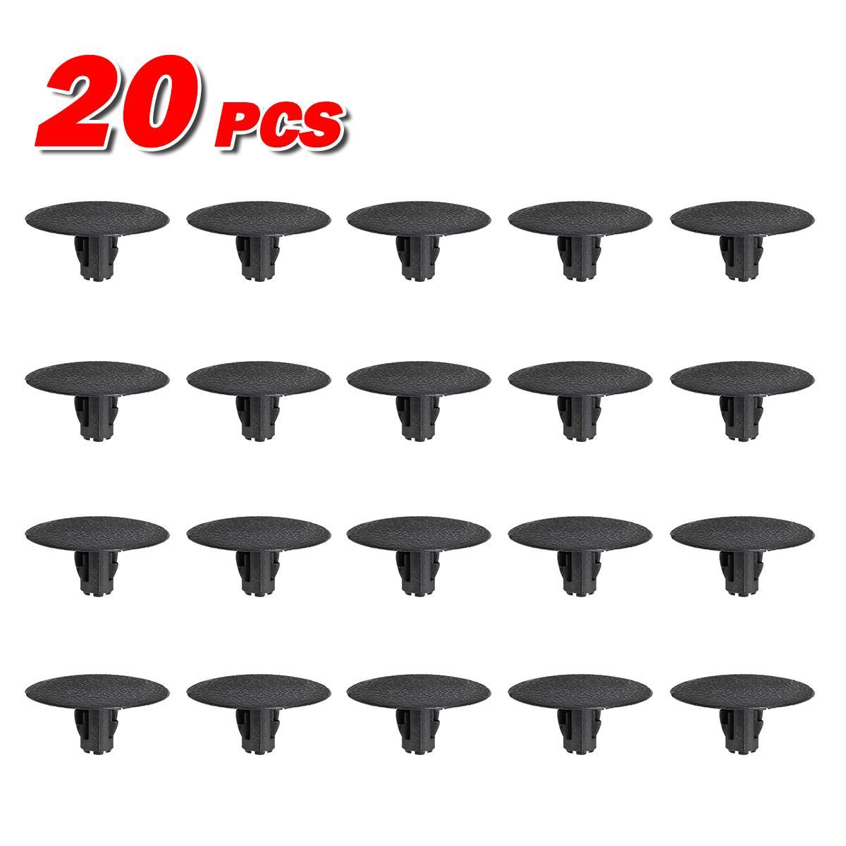20pcs Headliner Clips Retainer Fastener for # Mini-Cooper 51-43-7-001-491-2