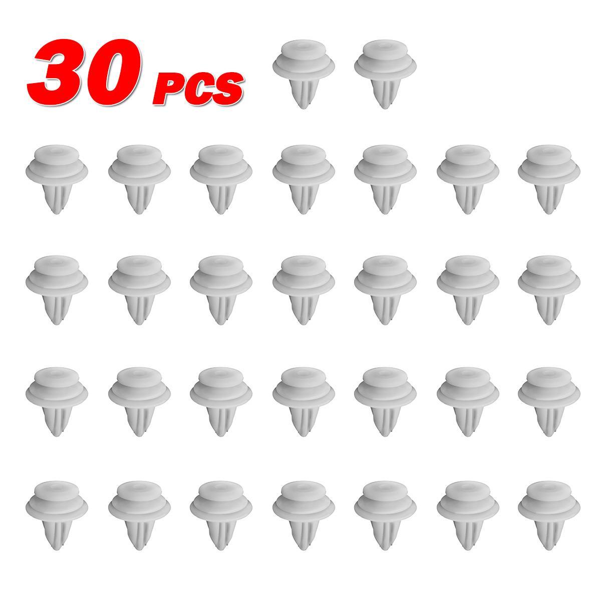 20pcs for Toyota Echo Scion Door Trim Panel Glass Nylon Clip Garnish Retainer