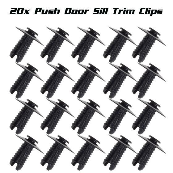 30 x Door Panel Clip Push-Type Retainer For BMW E34 E39 E46 E36  E38 E52 E53 E70