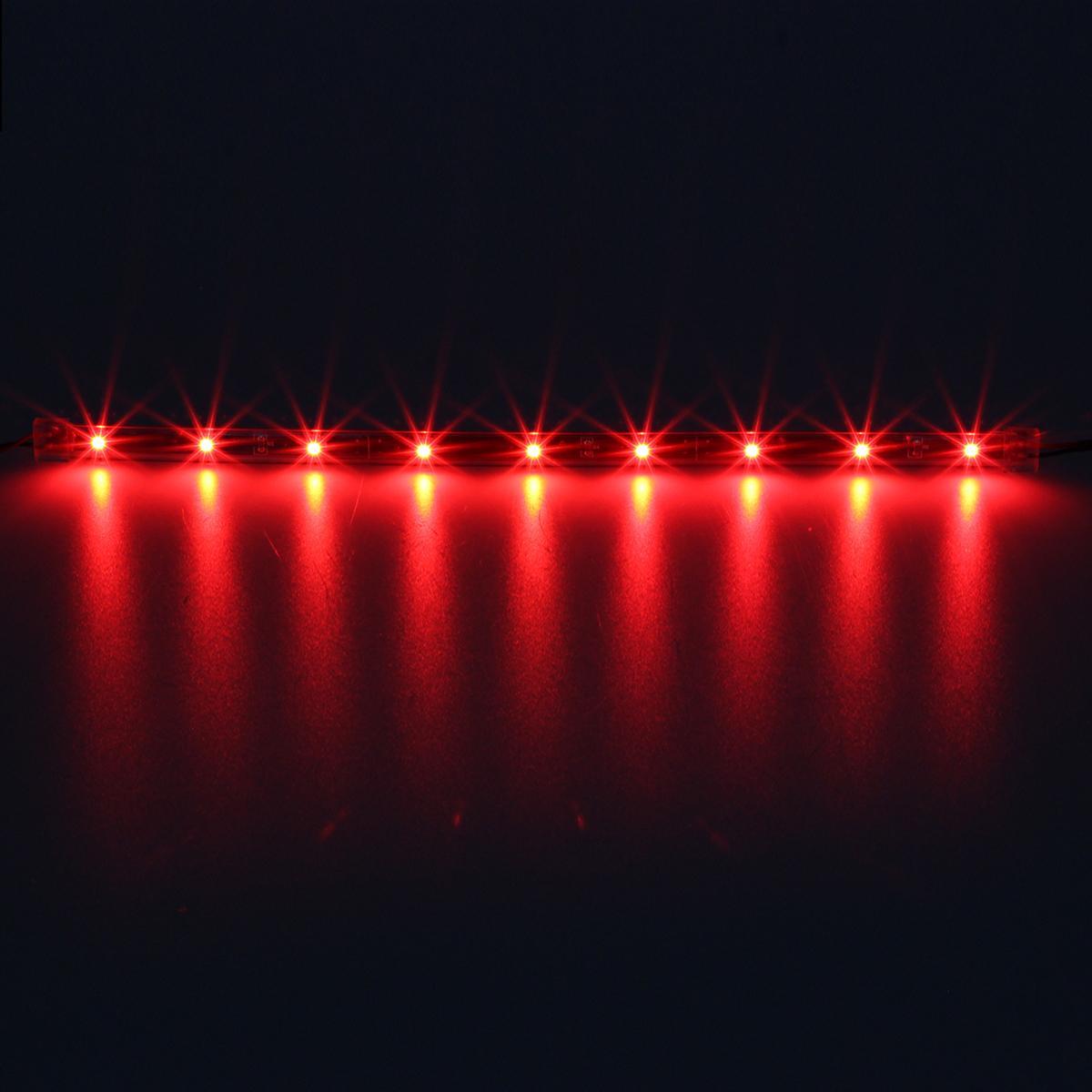 2pcs High Power Drl Lamps 14pcs Single Color Led Underbody Neon