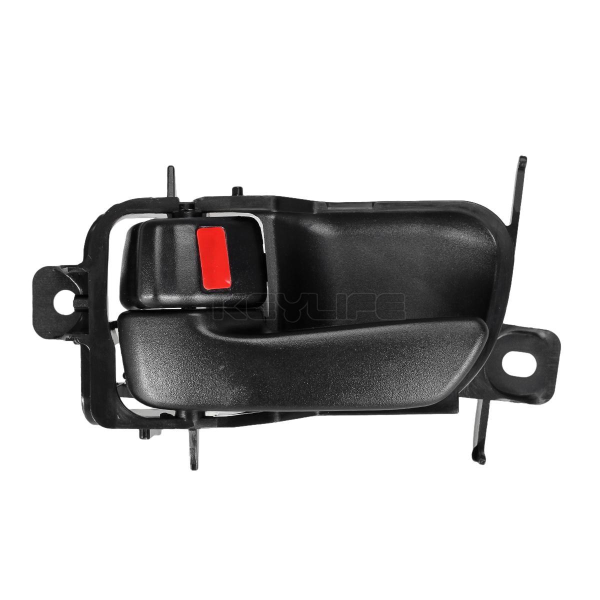Left Interior Door Handle Driver Side Black Fit For Toyota Avalon 69206-07010