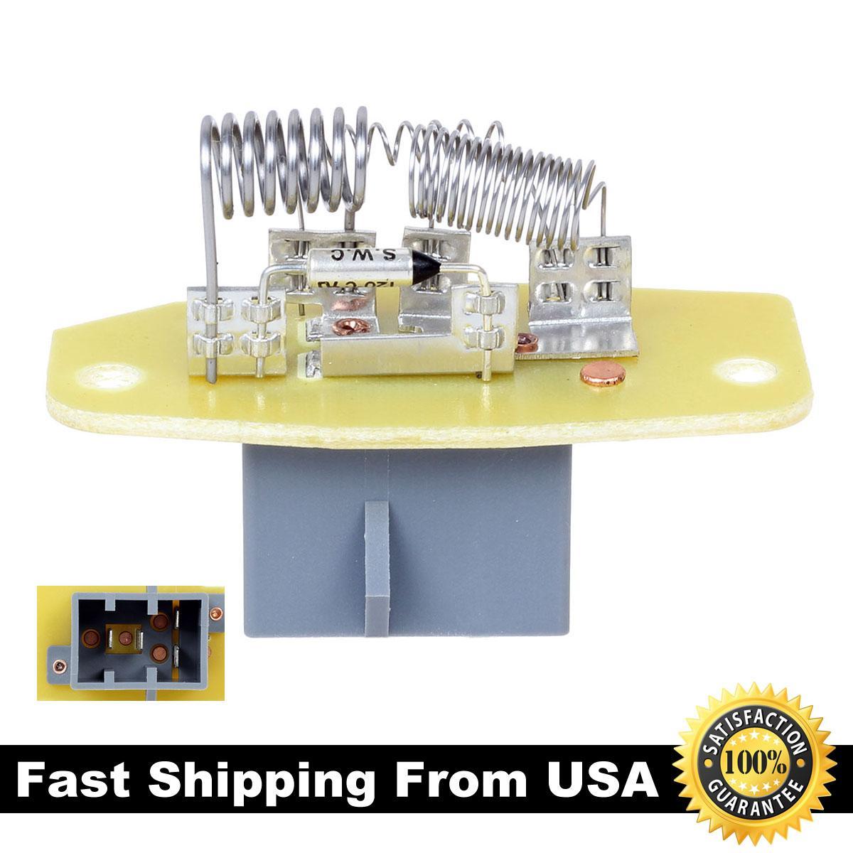 heater fan blower motor resistor for ford 91 94 explorer 90 97 f