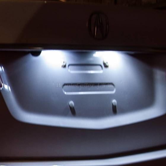 5 pcs deluxe white led lights interior package kit for - Toyota tacoma led interior lights ...