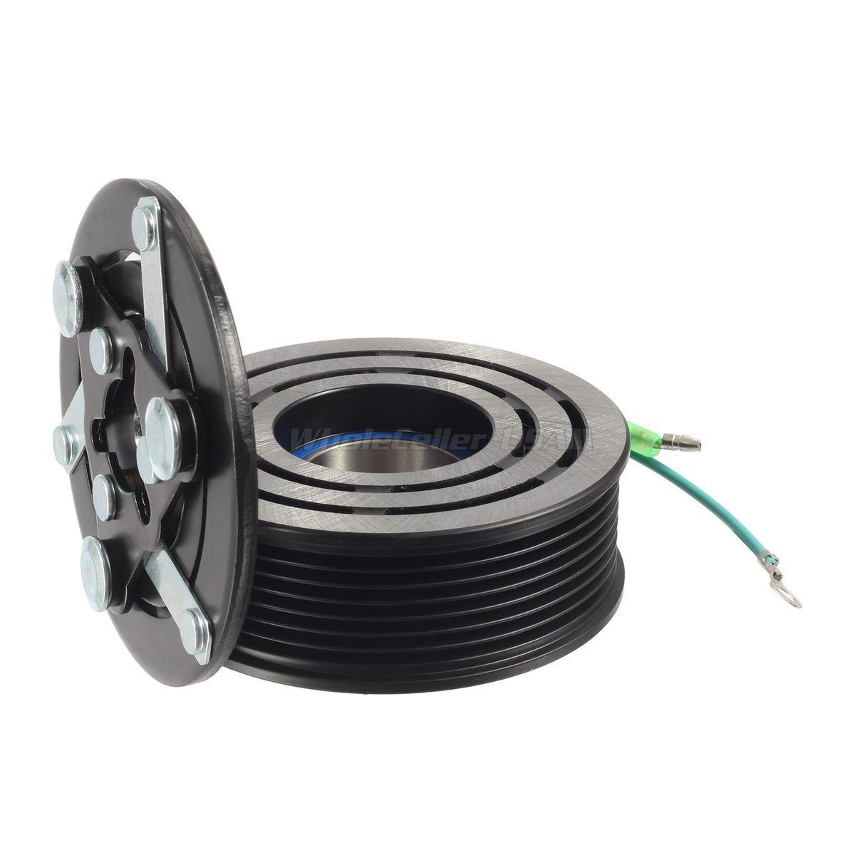A/C AC Compressor Clutch Assembly Kit For Honda CR-V 2.4L