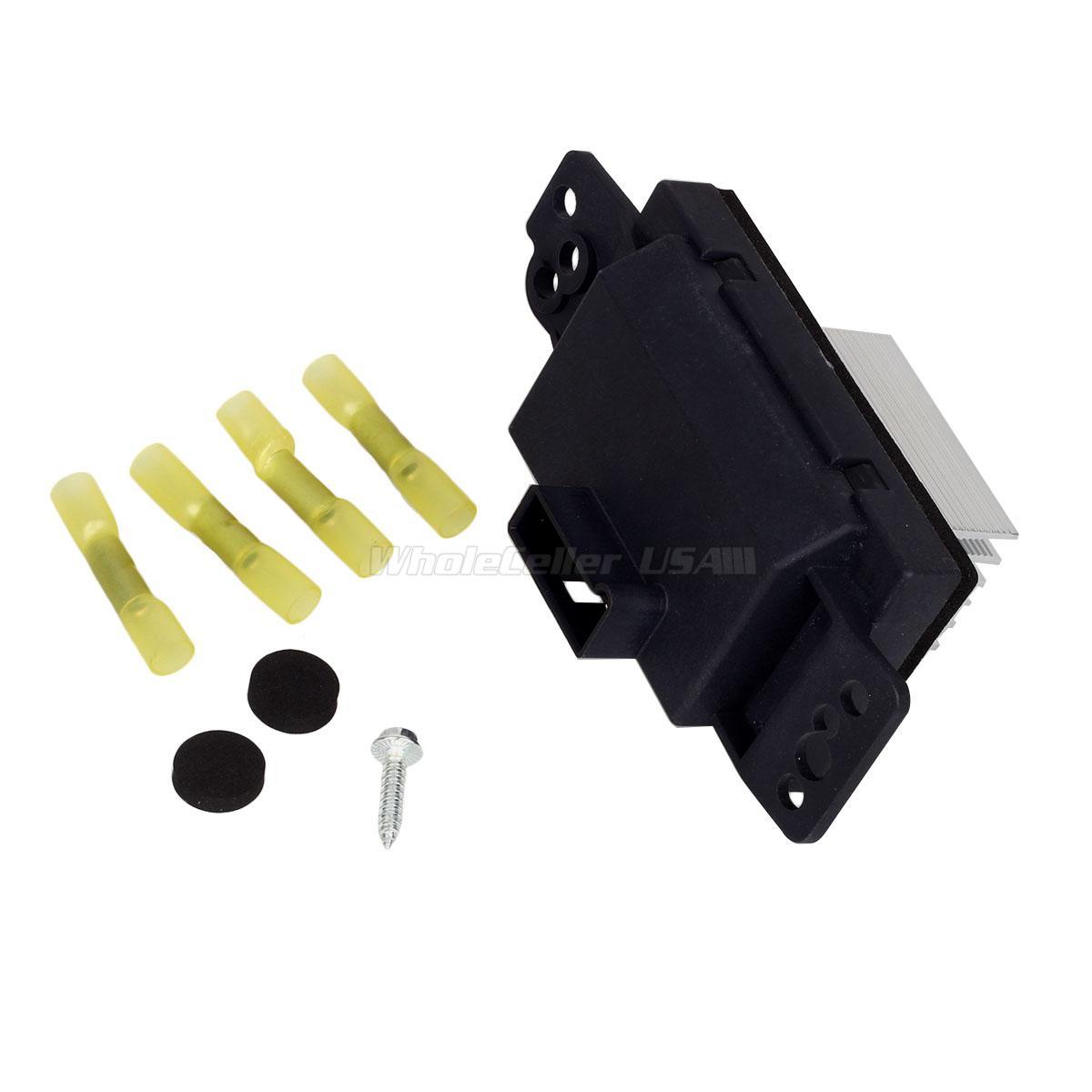 Chevy Impala Blower Motor Resistor: Blower Motor Resistor For Chevrolet 04-13 Impala 04-07