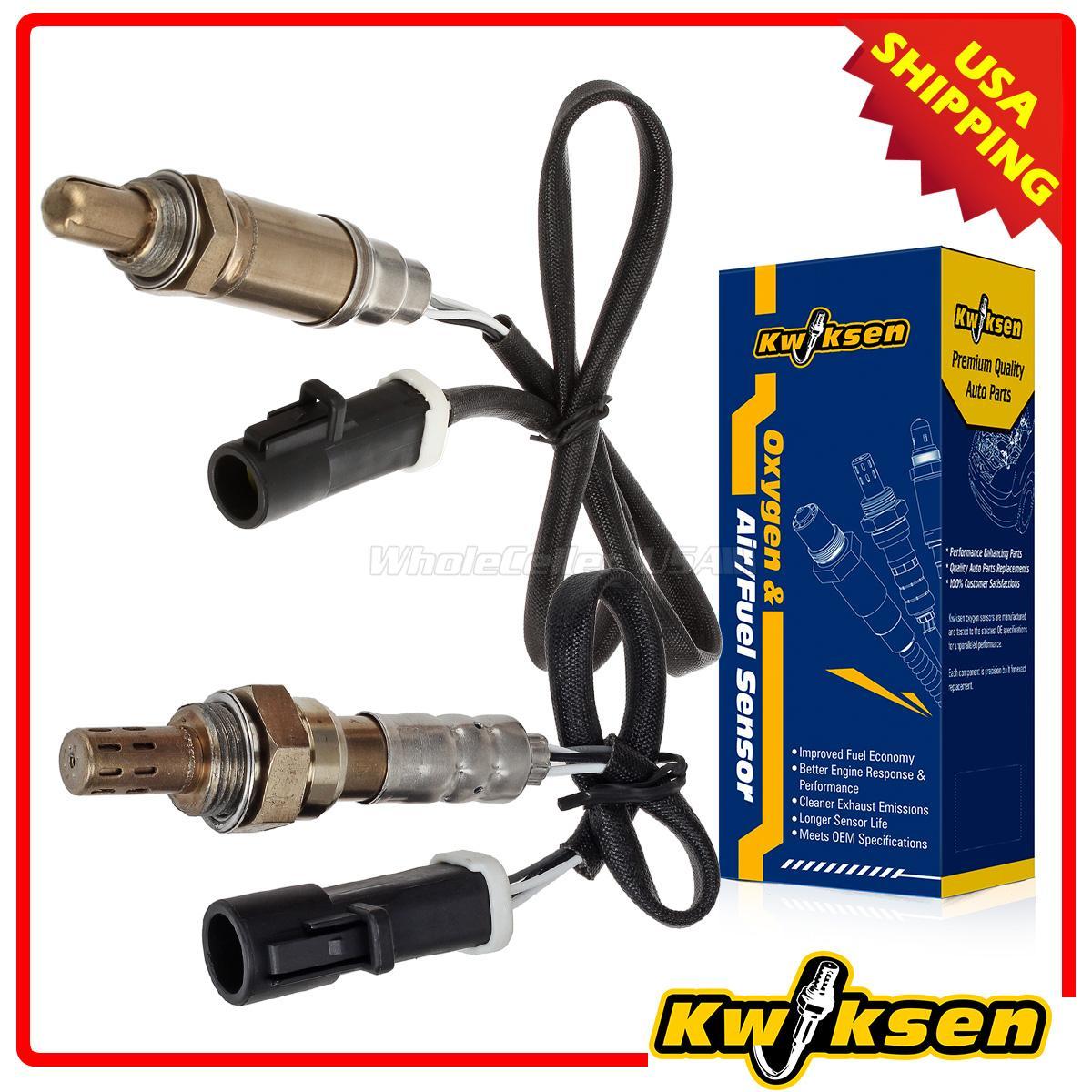 2Pcs Upstream /& Downstream Oxygen O2 Sensor For Ford Ranger Mazda B2500 2.5-5.0L