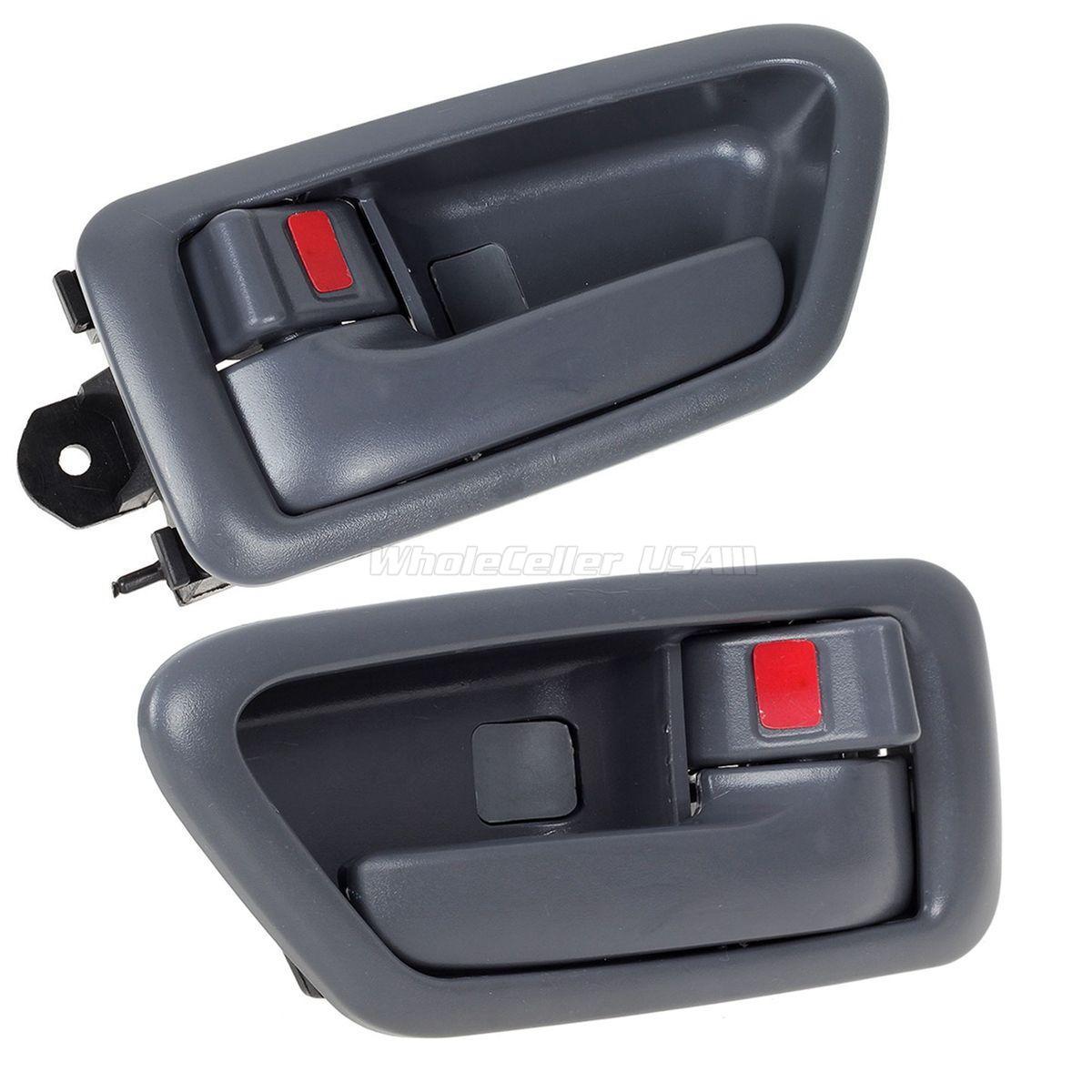 Inside Door Handle Bezel Front Left//Rear Left; Gray 97-01 Camry