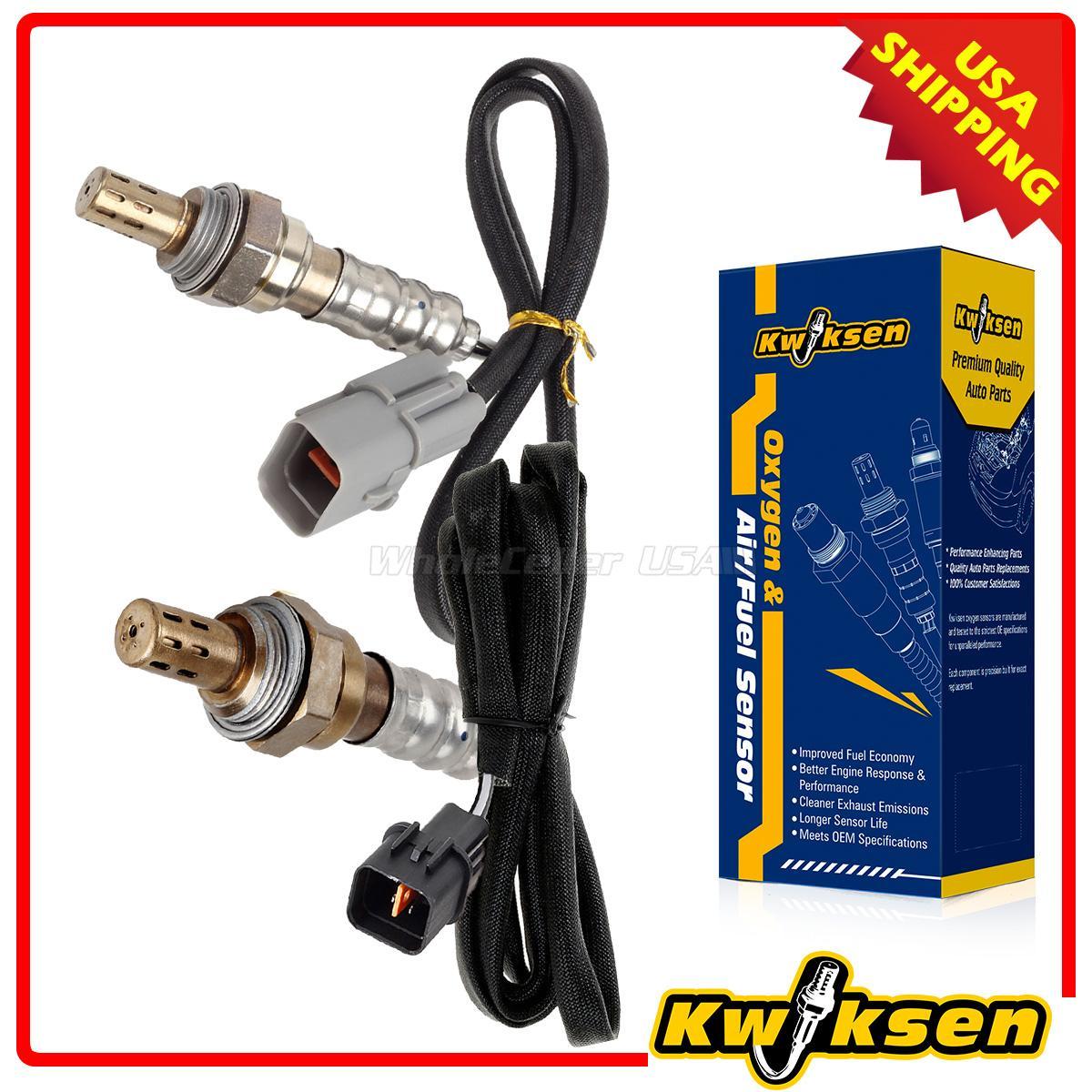 2x O2 Oxygen Sensors for Mitsubishi Eclipse 06-12 Cyl 3 4 Galant 2.4L Upstream