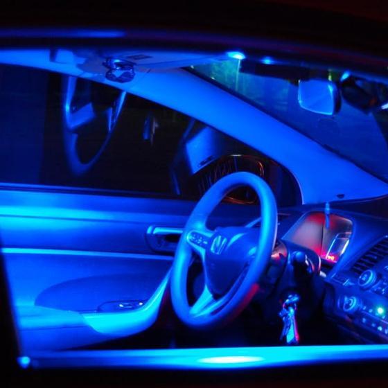17x Super Blue LED Interior Lights /& Backup Reverse For 2005-2010 Honda Odyssey