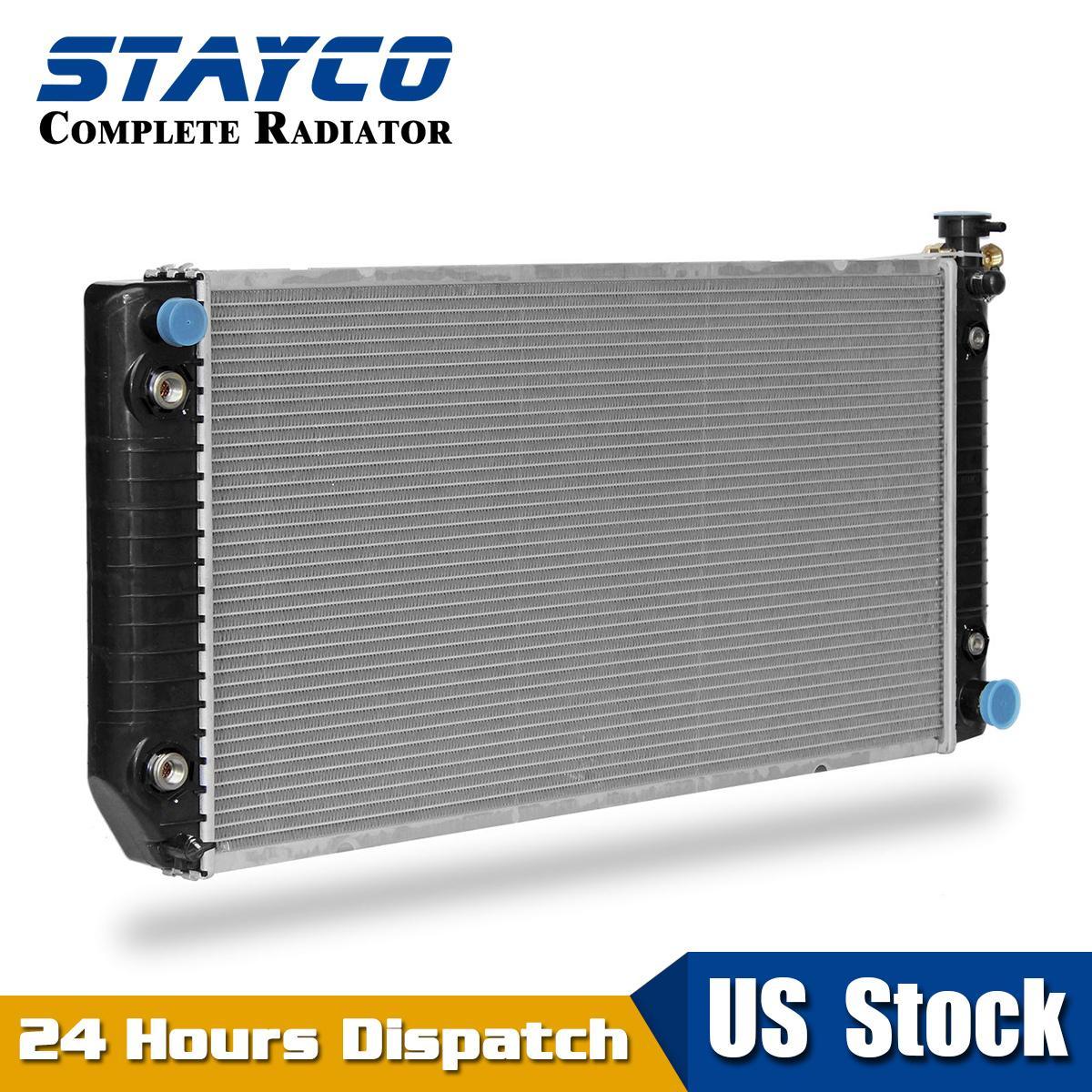 Radiator Support New for Chevy Chevrolet C1500 Truck K1500 GMC K2500 C3500 C2500