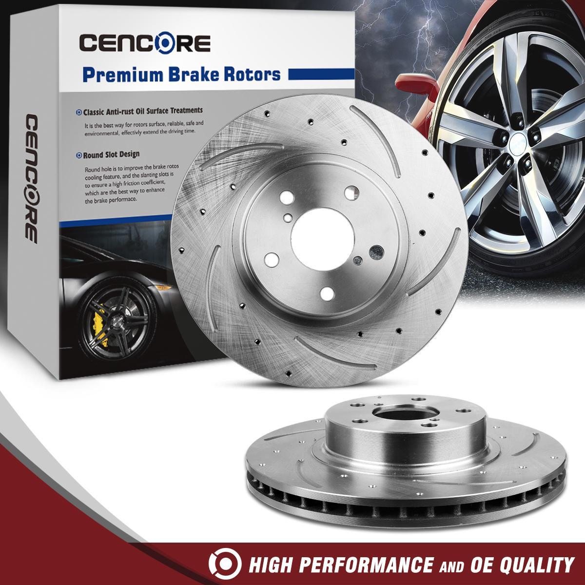 Front Disc Brake Rotors For Buick LeSabre Park Avenue