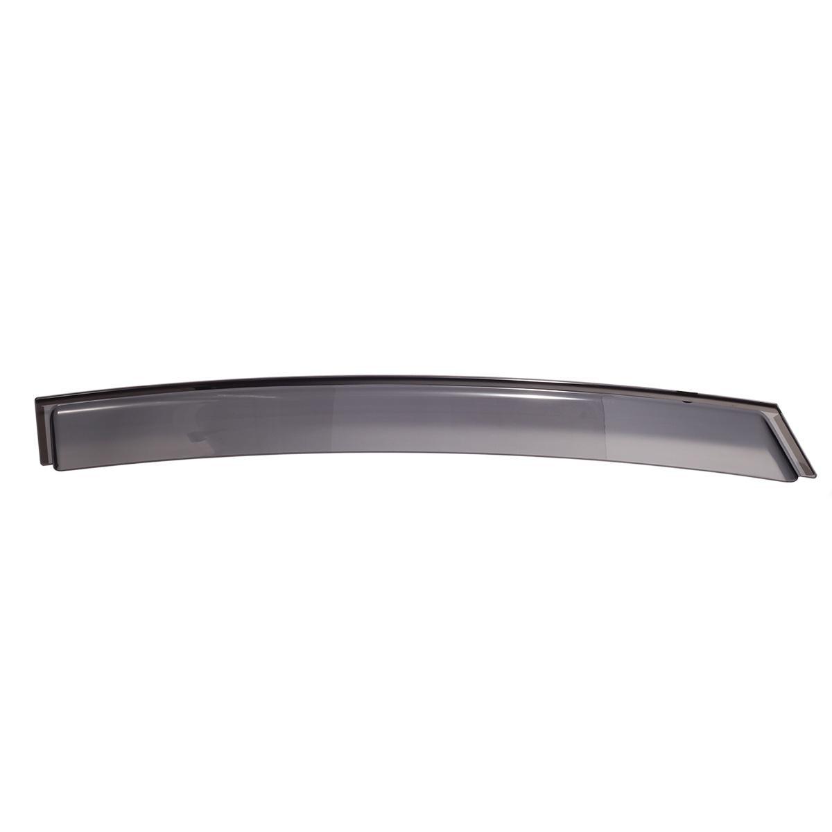 """For 2013-16 Dodge Dart 34.6/"""" Rain Guard Wind Visor Dark Gray T2 Sun Roof 880mm"""